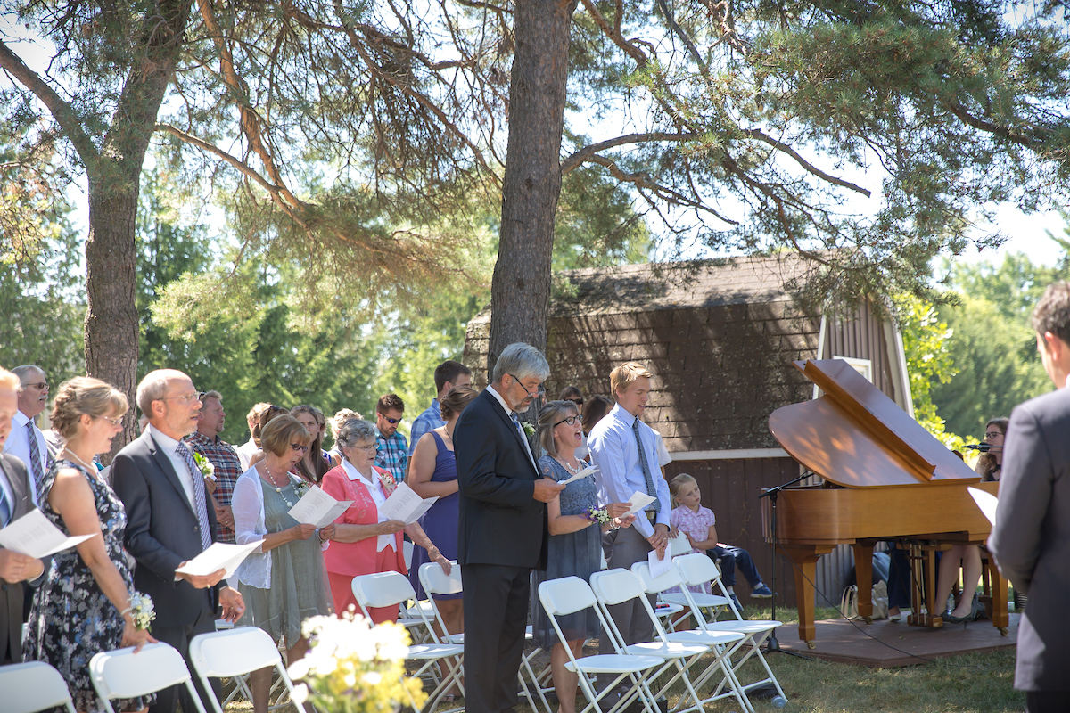 Jennica & Frazer's Summer Garden Wedding